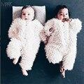 BOBO Choses Roupas Bebê Recém-nascido Roupas de Inverno Engrosse Romper Macacão Quente KIKIKIDS Infantil Roupas Meninos/Meninas Roupas