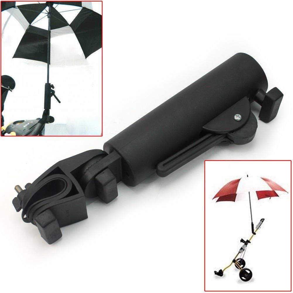 Детская коляска Гольф-тележка инвалидная коляска регулируемый угол поворотный стенд аксессуары разъем двойной замок прочный зонт держатель