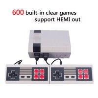 HDMI Out Retro Clásico TV consola de videojuegos jugador handheld del juego de La Familia Infancia Incorporado 600 Juegos de salida HDMI mini Consola