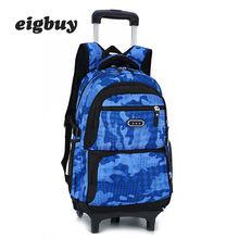 Kids Rolling Luggage Backpacks Kid School Bags Backpacks With Wheels Kid Suitcase Children Luggage Wheeled Backpacks Bag все цены