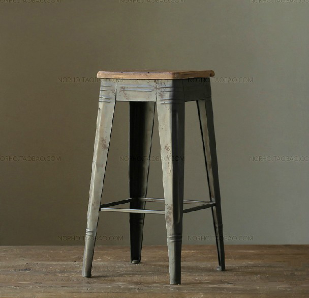 Loft Mining Retro American Country To Do The Old Style Retro Bar Stool Bar  Chair Leisure