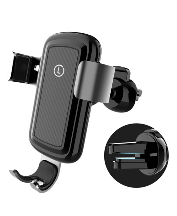 Coofun Qi Wirelss Charger Fast Charging for iPhone X 8 Car Phone Holder Air Vent Mount Stand for Samsung Galaxy S8 Great Value mobile phone car vent holder