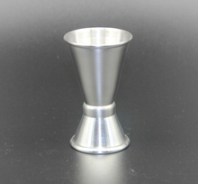 15/30 ml double head stainless steel crimping cup metal oz whisky cup kitchen bar tool bgd296 5 stainles steel density cup 100cc ml specific gravity cup