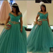 8b4ddcff7c503 Buy green puffy prom dresses and get free shipping on AliExpress.com