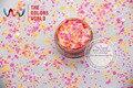 RI321-326 Смешать размер Смешивать Цвета круглый dot форма для Ногтей и DIY поставок