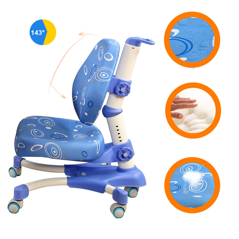 Hot Sale High Quality Lifted Student Desk Chair Comfortable Children Computer Chair