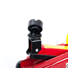 אוניברסלי 6.5cm רכב פנאומטי שקע גומי אוטומטי שקע כרית גומי צלחת בלוק שחור הגבהה להרים כרית רכב תיקון כלי