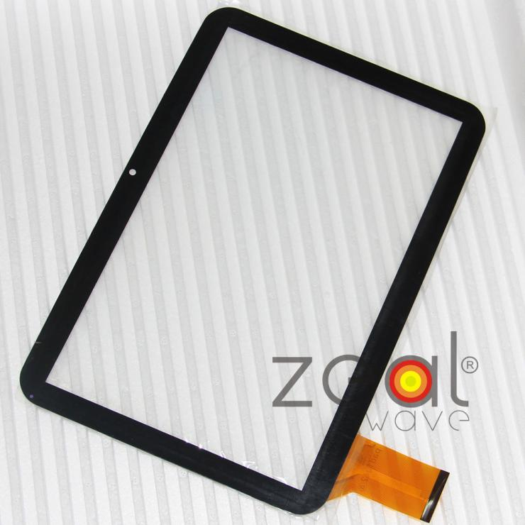 Free Shipping Black Color 10.1 inch Tablet PC MID Capacitive Touch Screen Panel Digitizer Glass Replacement Sensor Pad1042 original 8 inch tablet pc tpc1560 ver3 0 capacitive touch screen panel digitizer glass sensor free shipping