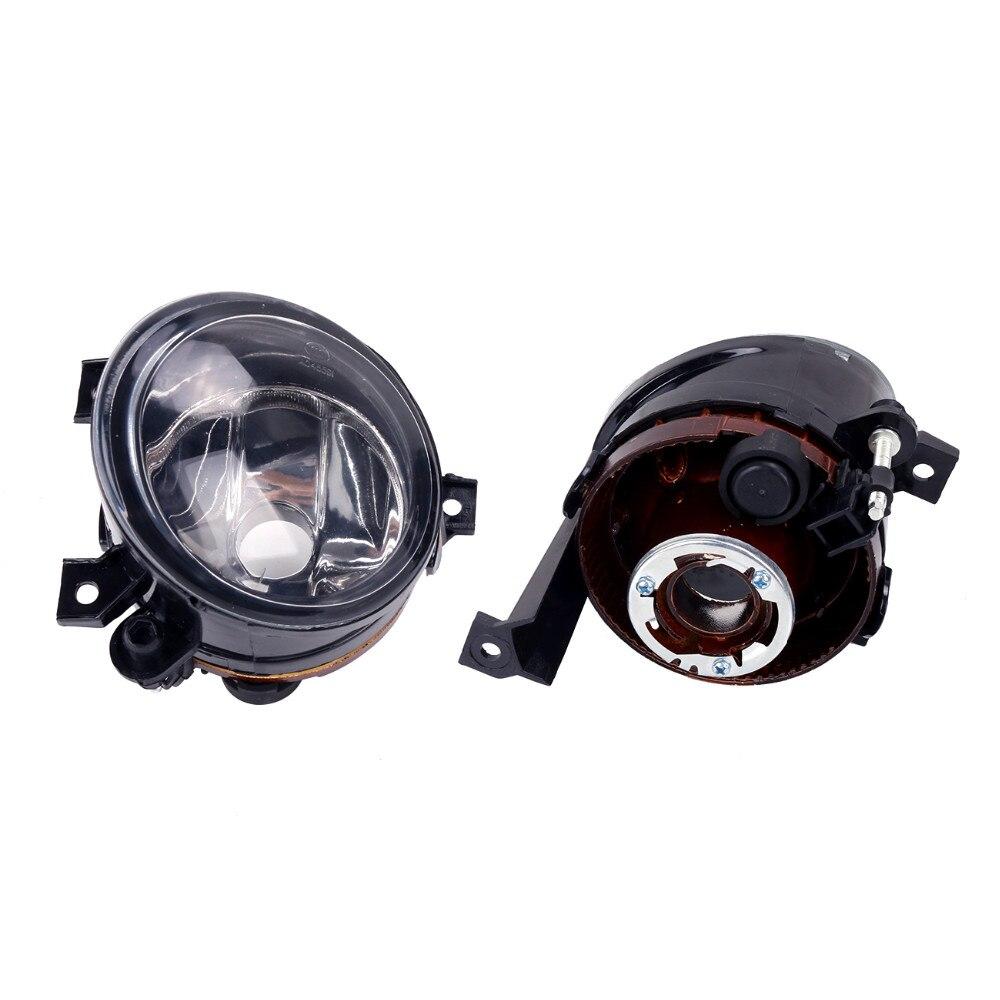 ФОТО 2Pcs Fog Lights Light Lamps For VW Caddy III Eos Golf Plus Polo Tiguan Touran Wagon //
