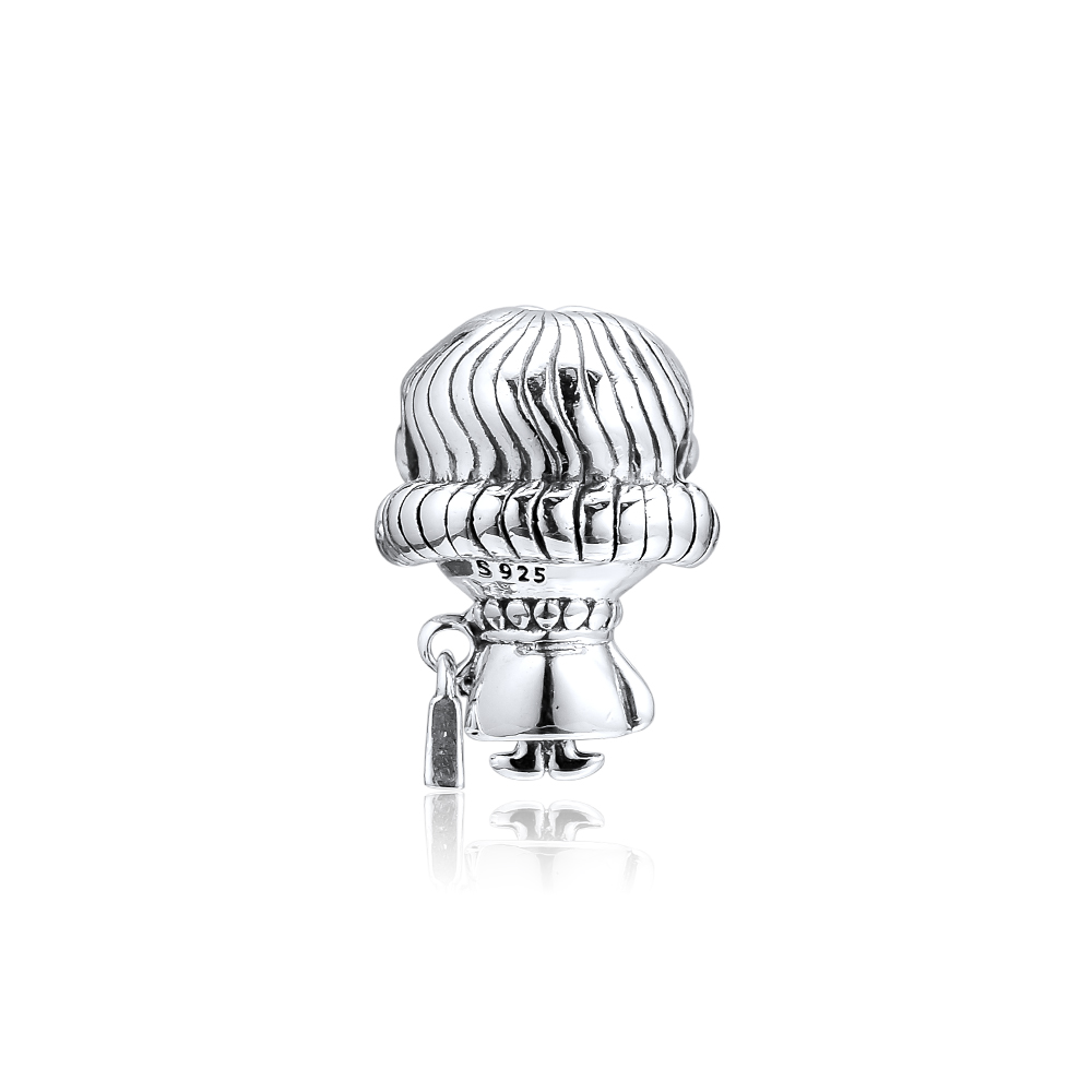 CKK Silver 925 Jewelry Mrs Wise Charm Mother 39 s Day Beads Fits Original Bracelets Sterling Silver Making in Beads from Jewelry amp Accessories