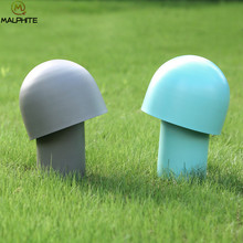 Modern Colored mushrooms table lamp Bedroom decor Table Lamps luminaires Living room Lighting Fixtures kids Reading desk lamp(China)