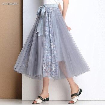9ef68d819 Hermosa Falda larga de Borgoña Saia Longa para mujer faldas Maxi con  cremallera Línea A ...
