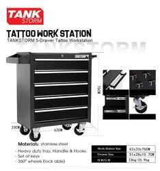 TANKSTORM 5-Cassetto Del Tatuaggio Workstation