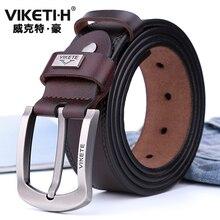 New Men's Belt High Quality Cowskin Belt Fashion Mixed Match
