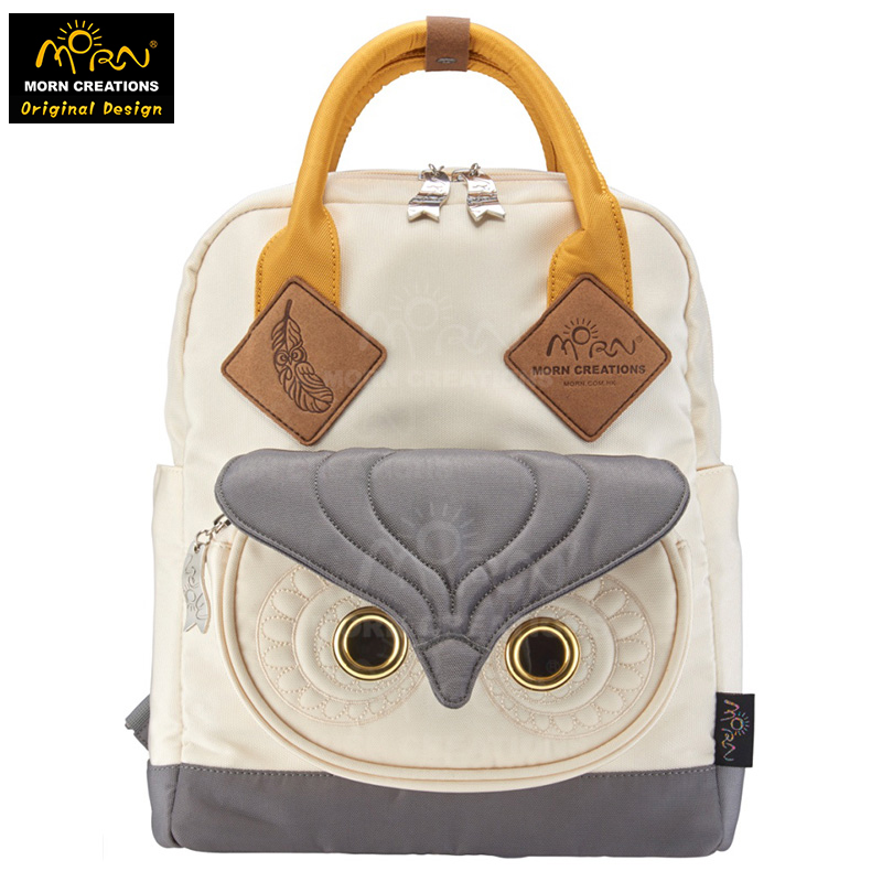 Morn Creations Original Design Five Colors Available Owl Backpack (L) Owl Style Computer Backpack SB-201 three creations 200pcs 7x5cm
