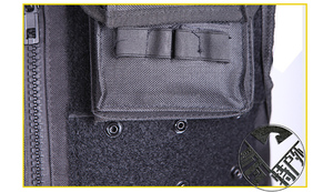 Image 4 - High Quality Tactical Vest Black Mens Military Hunting Vest Field Battle Airsoft Molle Waistcoat Combat Assault Plate Carrier