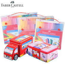 Faber Castell Watercolor Connector Marker for Kids Clip-On Colored Painting Sketch Pen 10/20/30/40/60/80 Colors Aquarell Marker