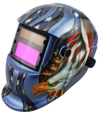 ФОТО LI battry and Solar auto darkening welding helmet/mask for the MIG MAG TIG MMA welding machine and CUT plasma cutter