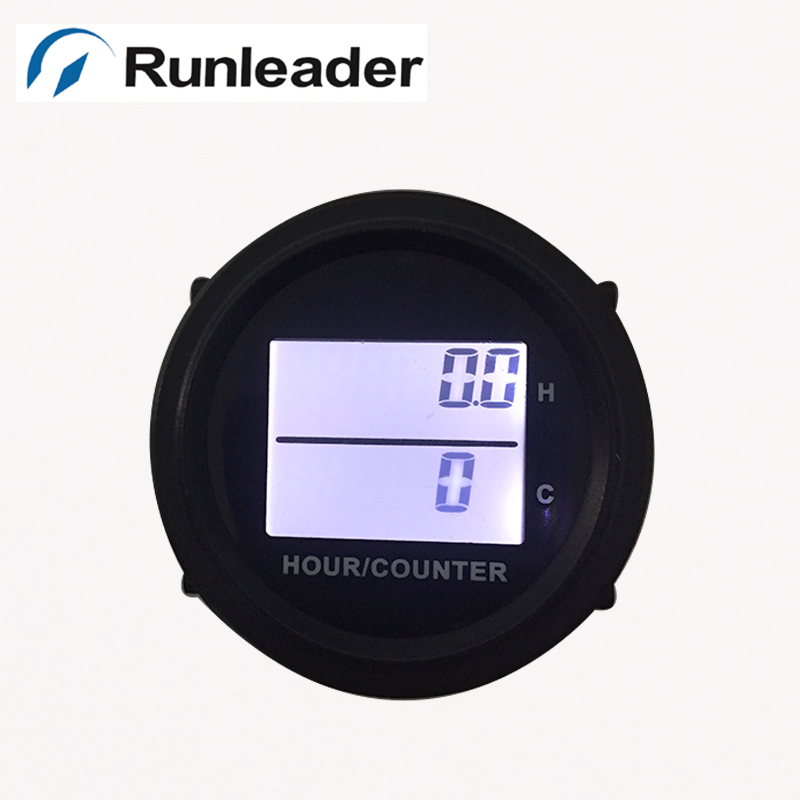 Tachometer for Lawn /& Garden Tractors Mowers /& Zero Turns! Digital Hour Meter