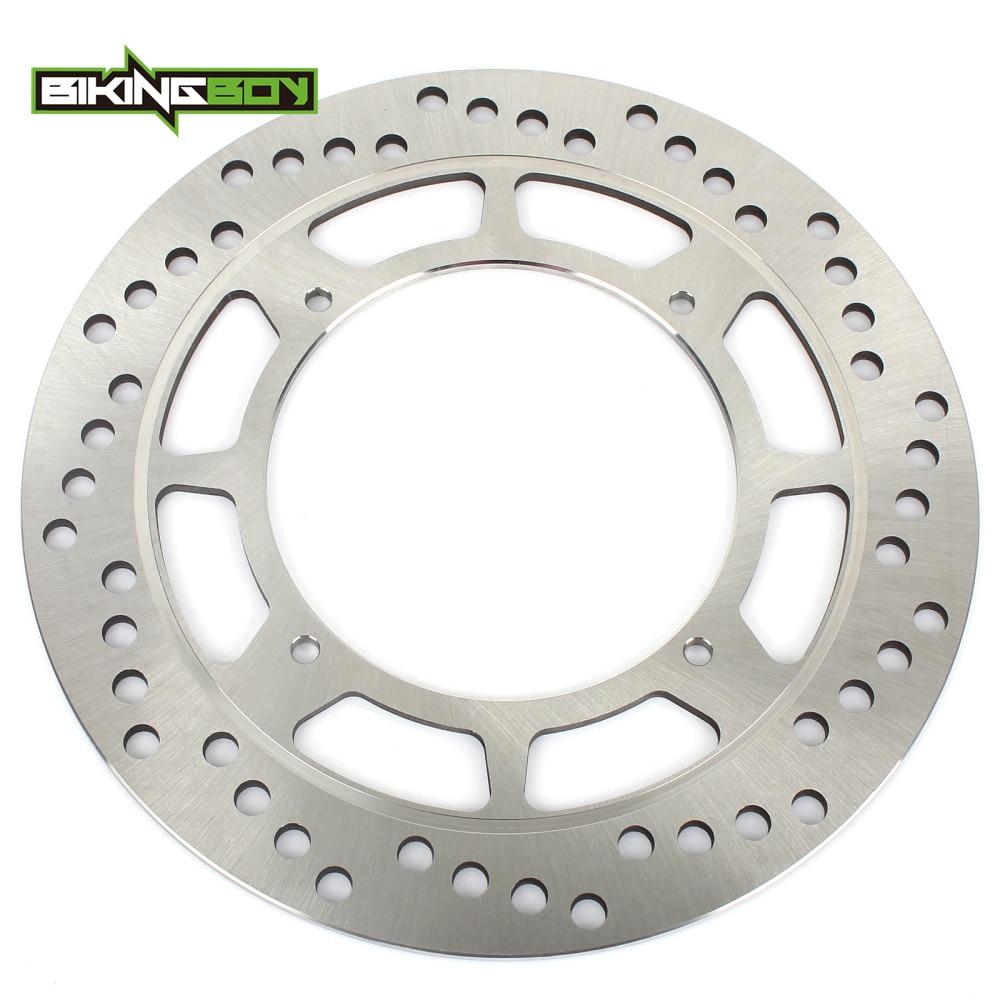 BIKINGBOY MX Offroad Front Brake Discs Rotor For Honda CR125R XL125R XLR125R CRF230F CRM 250 XR 250 R S XR 400 R XR500R XR 600 R 320mm 240mm new full set front rear brake discs rotors for ducati 749 r s 02 07 848 evo 11 13 999 biposto s r 02 03 04 05 06 07
