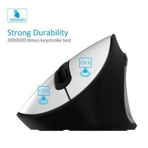 Image 3 - Delux souris optique ergonomique verticale sans fil M618SE 2.4 ghz, 6 boutons, pour bureau USB, Windows 2000/XP/Vista/7/8/10
