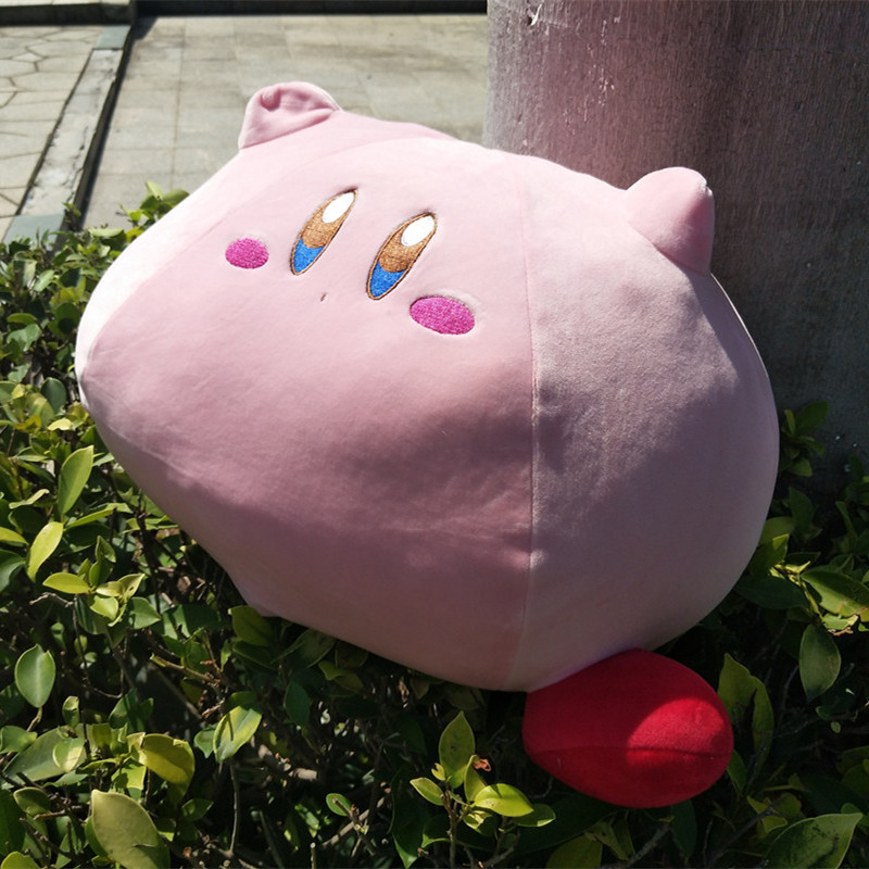 Popular game large size 43CM Kirby Kirby cute plush toy doll cartoon plush soft cushion and pillow Girl's favorite gift nidici kun h5 227mm qian h5 235mm wheelbase 5mm arm 3k carbon fiber 5 inch frame kit for rc models spare part blue red