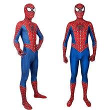 באיכות גבוהה קלאסי רמי spiderboy תלבושות ילדים למבוגרים לייקרה ספנדקס ספיידרמן ילד גרביונים עבור ליל כל הקדושים קמע קוספליי