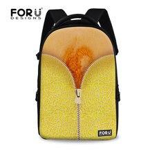 Марка водонепроницаемый папайя ноутбук рюкзаки 15.6 дюймов подросток девушки компьютер рюкзак для женщин молодежного туризма рюкзак mochila