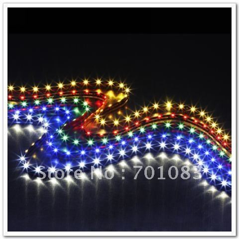 2012 Hot Sales! Waterproof IP65 SMD335 8MM WHITE LED Flexible Strip Free Shipping Low Price $3.92/60LED/M High Quality