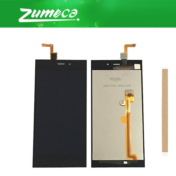 High Quality 5.0inch For <font><b>Xiaomi</b></font> 3 M3 MI 3 <font><b>Mi3</b></font> <font><b>Xiaomi</b></font> 3 LCD <font><b>Display</b></font>+Touch Screen Digitizer Assembly Black Color With Tape image
