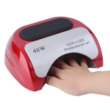 Auto induction Sensor 48W Quick Nail Dryer LED Lamp Gel Curing Ultraviolet