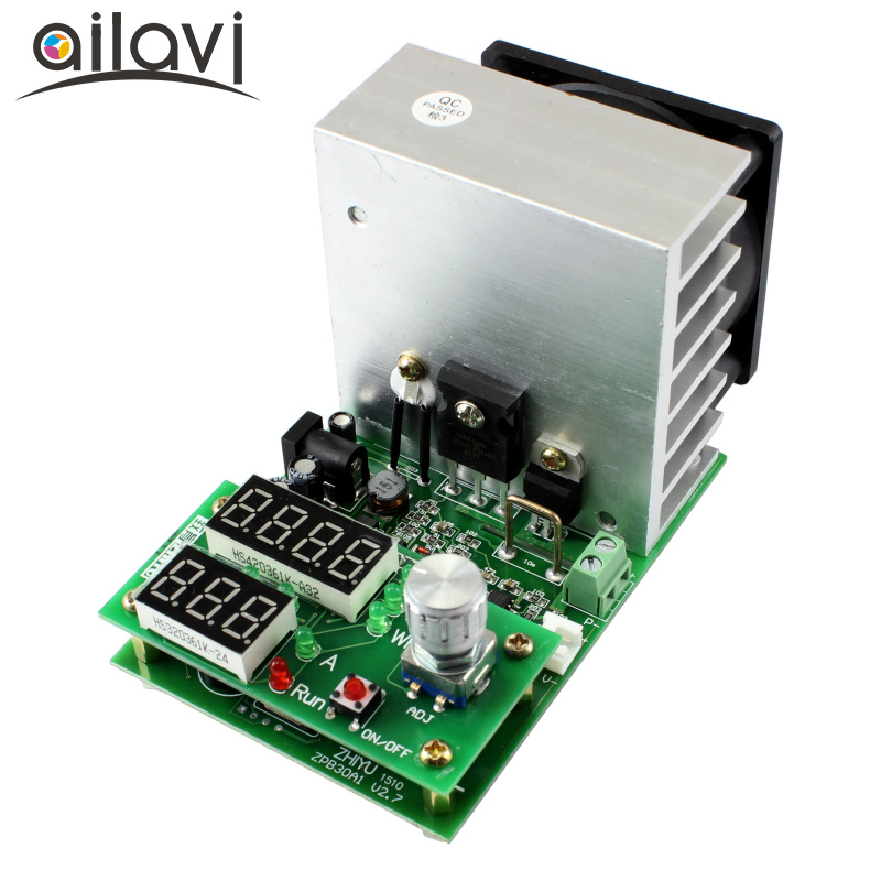 110W Constant Current Electronic Load Tester 10A 1V~30V Battery Discharge Capacity Test Equipment horowitz troubleshootong &amp repairing electronic test equipment 2ed paper only page 8