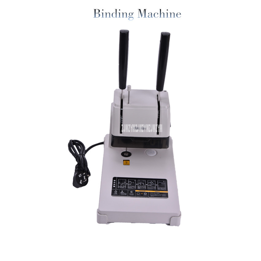 1PC 3888 Electric bookbinding machine,financial credentials, document,archives binding machine deli 3881 affordable financial document binding machine