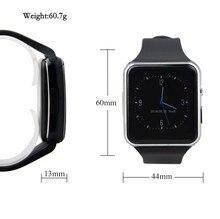 2016 neue Bluetooth Smart Uhr X6 Smartwatch sport uhr Für Apple iPhone Android-Handy Mit Kamera FM Unterstützung SIM Karte