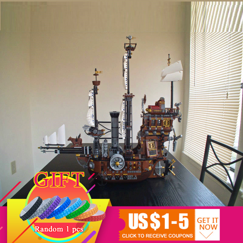 16002 2791Pcs Pirate Ship Metal Beard's Sea Cow set Compatible With 70810 Model Building Blocks Kits Mini Bricks toys free shipping lepin 16002 pirate ship metal beard s sea cow model building kits blocks bricks toys compatible with 70810