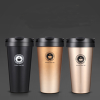 Lekoch 2018 Hot Sale Coffee Mugs 304 Stainless Steel Insulation Cup Double Wall thermos Bottle To Keep Water Warm and Cold Mug