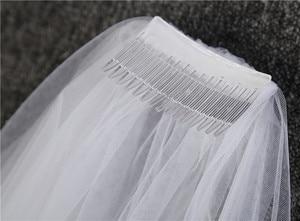 Image 5 - wedding accessories 3 meter blusher wedding veil long wedding veil bridal veils  veils for bride with comb WAS10072