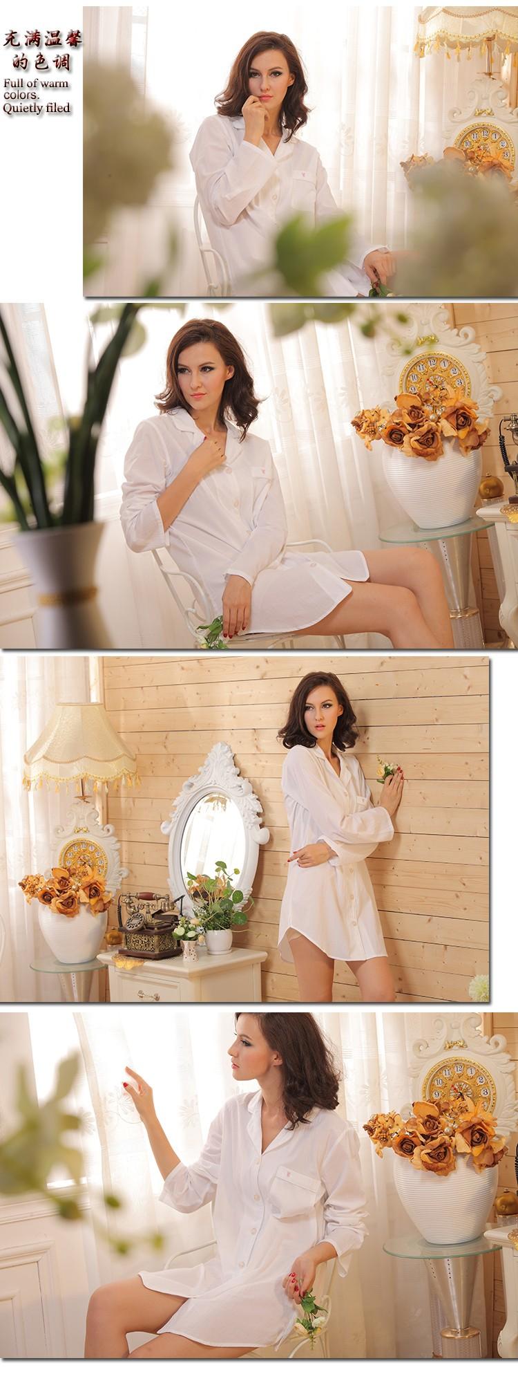 white cotton womens nightshirts