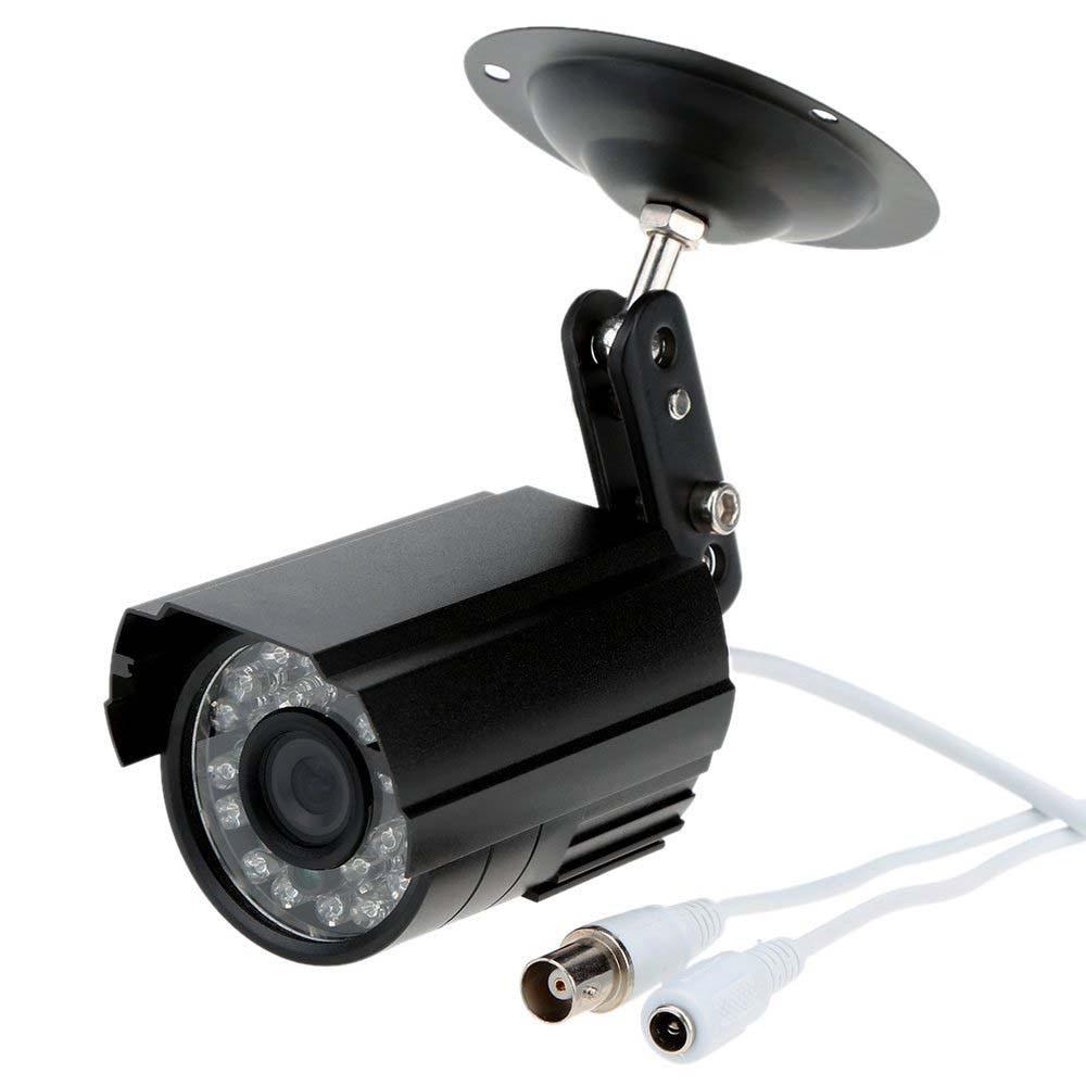 Wholesale HD 800TVL 24 IR LED CCTV Camera Home Surveillance Camera Day/ Night Waterproof Camera zea afs011 600tvl hd cctv surveillance camera w 36 ir led white pal