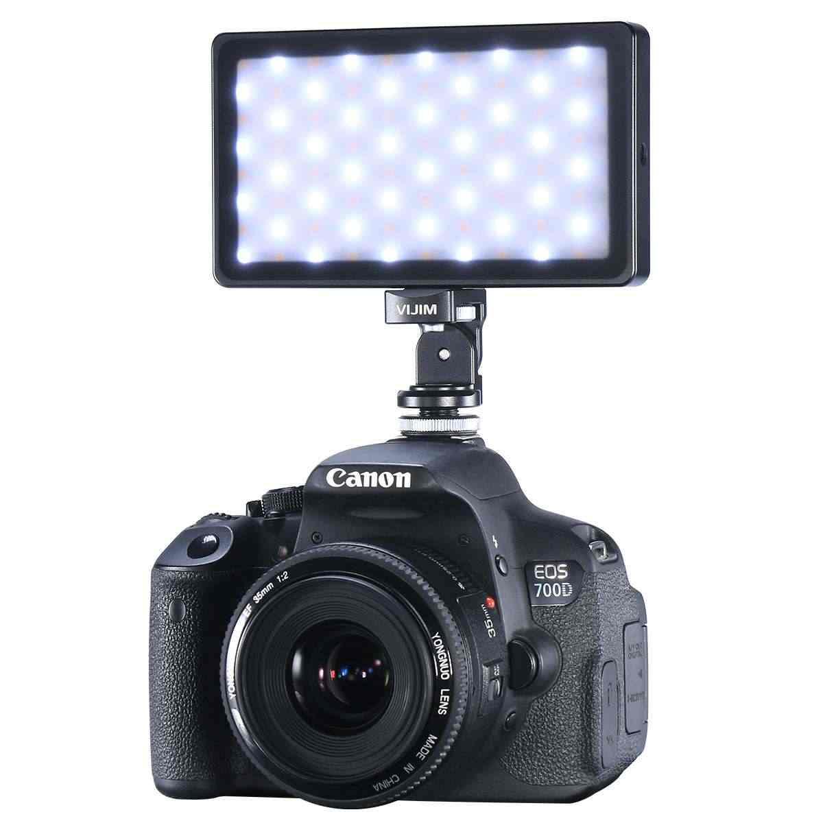 Vijim VL-2 Portabel Fotografi Foto Studio RGB LED Video Light 2500 K-8500 K Lampu dengan 3200 M Ah panjang Yang Sangat Baik Hidup Baterai