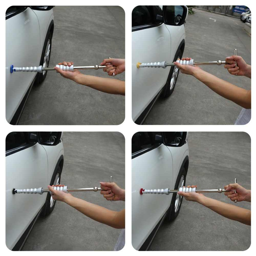 PDR инструменты обратный молоток автомобильный корпус безболезненный вмятин набор инструментов для ремонта вмятин Съемник горка молоток грибки присоска для удаления вмятин царапин