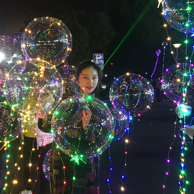 LED Light Balloon Led BoBo Balloon Lights For Birthday Wedding Christmas Party
