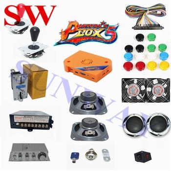 DIY Arcade Kit Pandora Box 5 960 in 1 Jamma Multi Game Board Harness Coin Selector Joystick Button PartS for DIY Arcade machie
