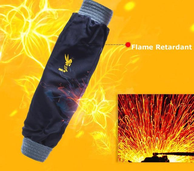 Flame Retardant Welder FR Cotton Welding Sleeves
