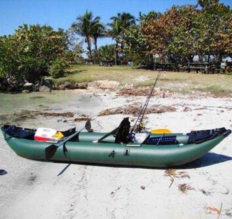 Bateau gonflable d'aviron KMK360 CE bateau de kayak de pêche