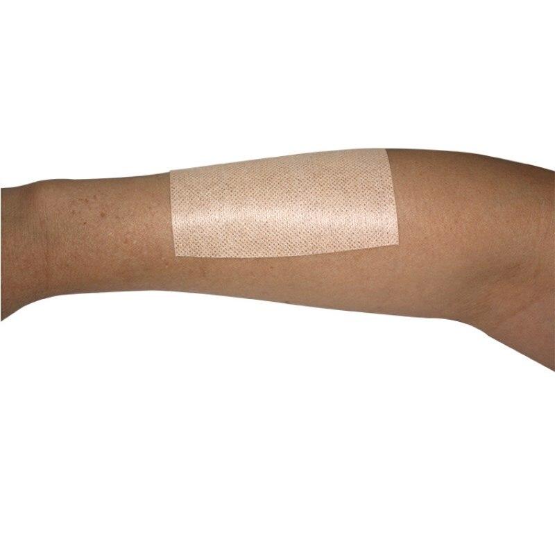 Image 4 - 2 roll Adhesive Wound Dressing bandage Medical Fixation Tape Bandage breathable spunlace non woven fabric anti allergicEmergency Kits   -