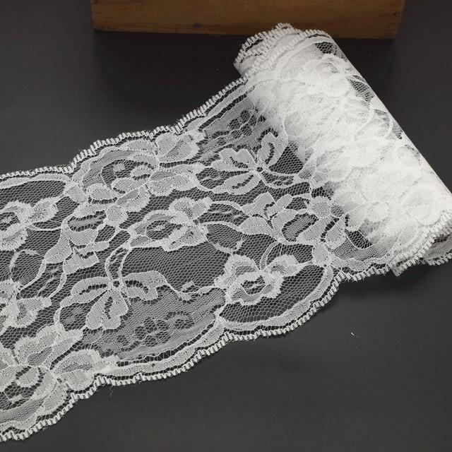 20yards 13cm Wide Good Quality Handicrafts Net Lace Trim Ribbon Flat