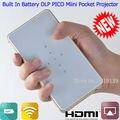 Dlp PICO Mini proyector Wifi Compatible para el iPhone iPad Samsung Android buena calidad HDMI MHL bolsillo videoproyector