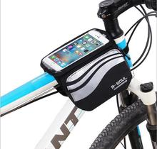 Bicycle Front Touch Screen Phone Bag MTB Road Bike Cycling Mobile Cycle 5.7 inch Cellphone Accessories