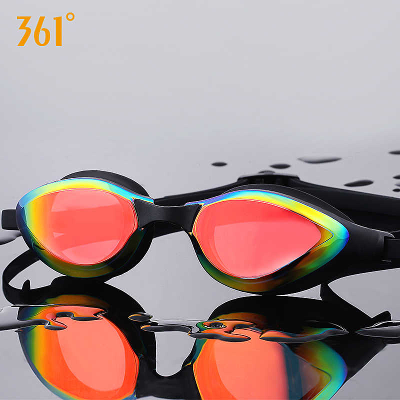 361° Unisex Swimming Goggles Waterproof Anti Fog HD View Adult KidsKSwim Goggles for Pool Summer Competitive Sport Swim Eyewear